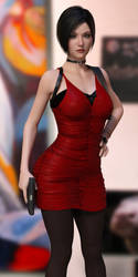 Resident Evil 2 Remake Ada Wong 3D Cosplay by guhzcoituz
