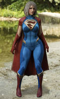 Super Girl for Genesis 3 Female (3D COSPLAY)
