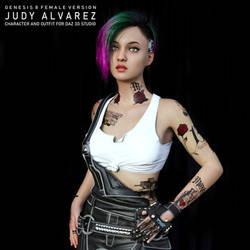 Judy Alvarez for G8F