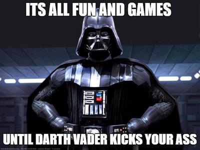 Mlg Darth Vader by SasuketheCathog17