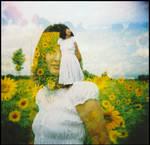 holga sunflowers II