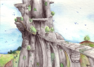 ACEO: The Farthest Land by IvoryPeony