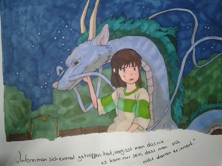 chihiros reise ins zauberland haku