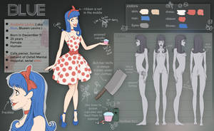 Blue  character sheet  by HorRaw-X