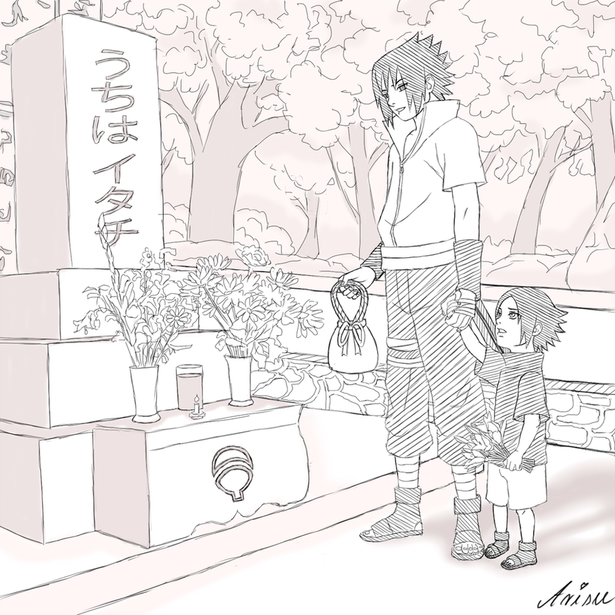 Itachi's Grave by ArisuAmyFan