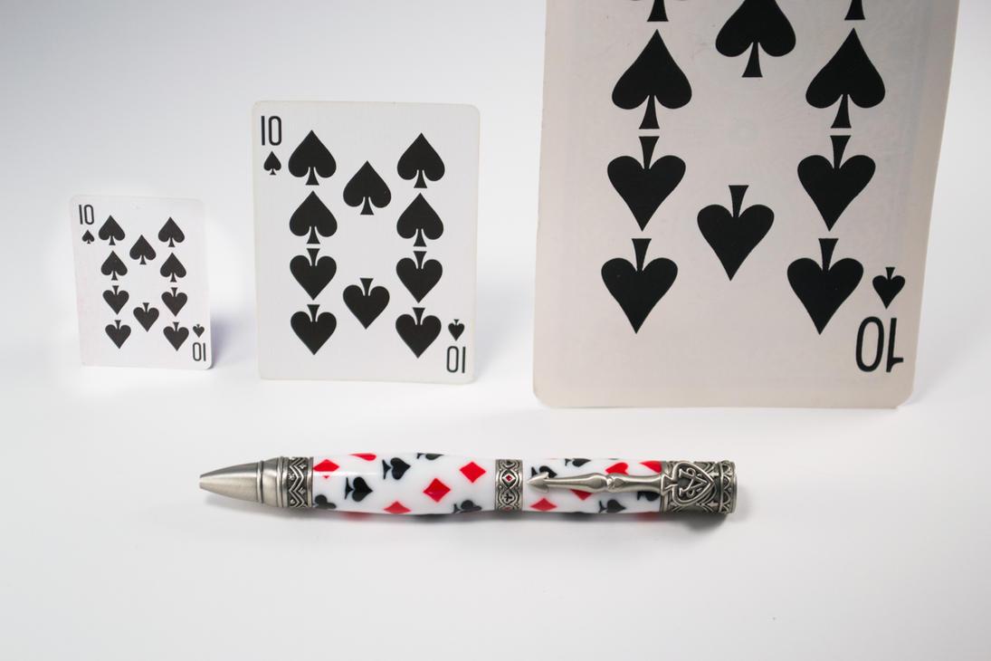 Alice in Wonderland Inspired Pen by aladdin-boy