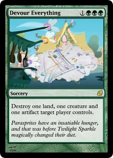 Devour Everything - FiMtG by Kitonin