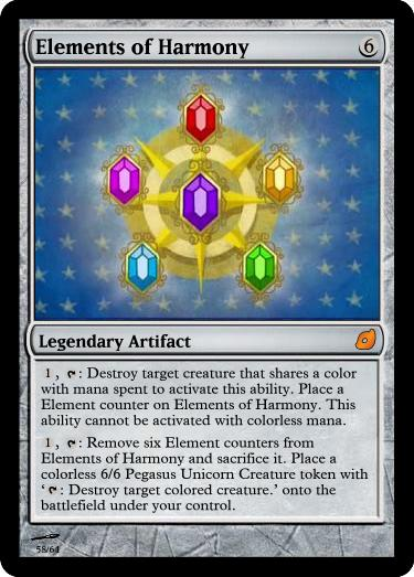 Elements of Harmony - FiMtG by Kitonin