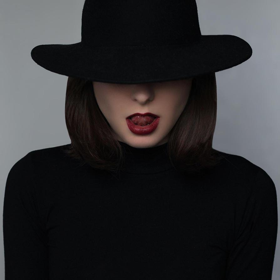 Little black portrait by axy93