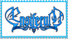 Ensiferum blue stamp - transparent by Ouroboros-Stamps