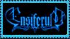 Ensiferum blue stamp - transparent by Ouroboros-Stamps