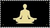 Meditation stamp by Ouroboros-Stamps