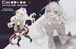 CLOSED Adopt auction: Little girl dragon