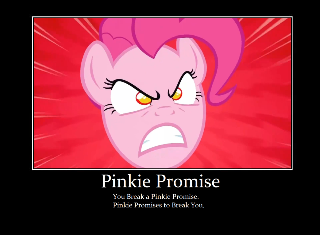 Pinkie Promise by coolguy1000 on DeviantArt