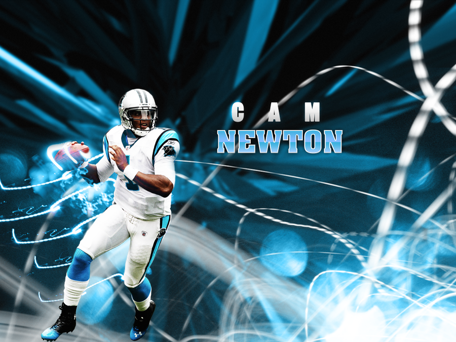 The rookie cam newton by no look pass on deviantart - Carolina panthers wallpaper cam newton ...