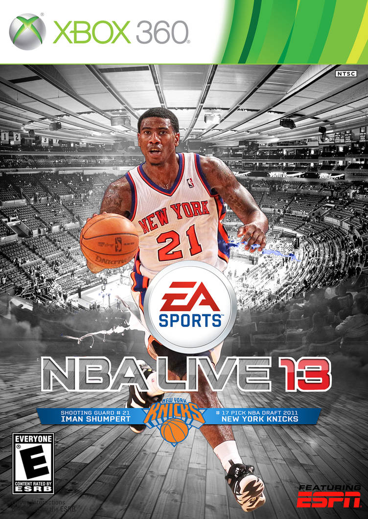 57c5934175f7 NBA Live 13 Custom Cover  Iman Shumpert by HZ-Designs on DeviantArt