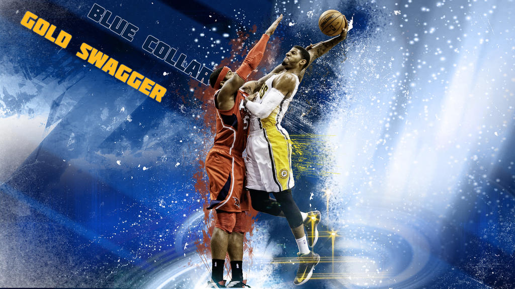 Paul george blue collar gold swagger by hz designs on deviantart paul george blue collar gold swagger by hz designs voltagebd Choice Image