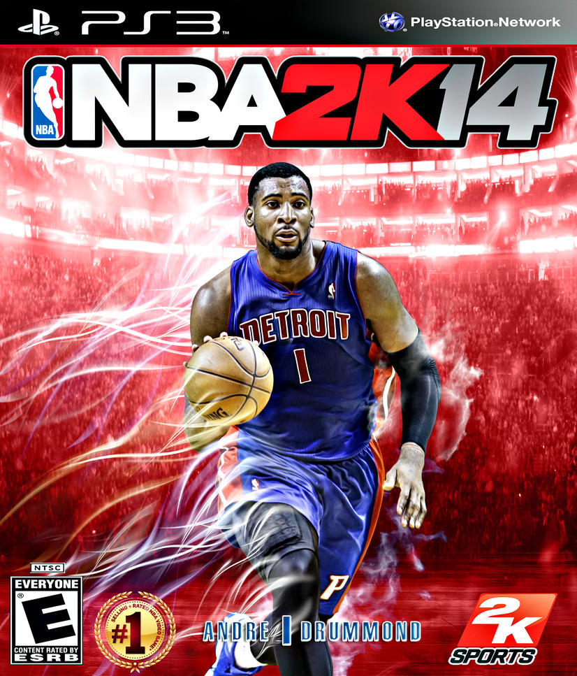 NBA 2K14 Andre Drummond by Nba 2k14 Custom Covers Xbox