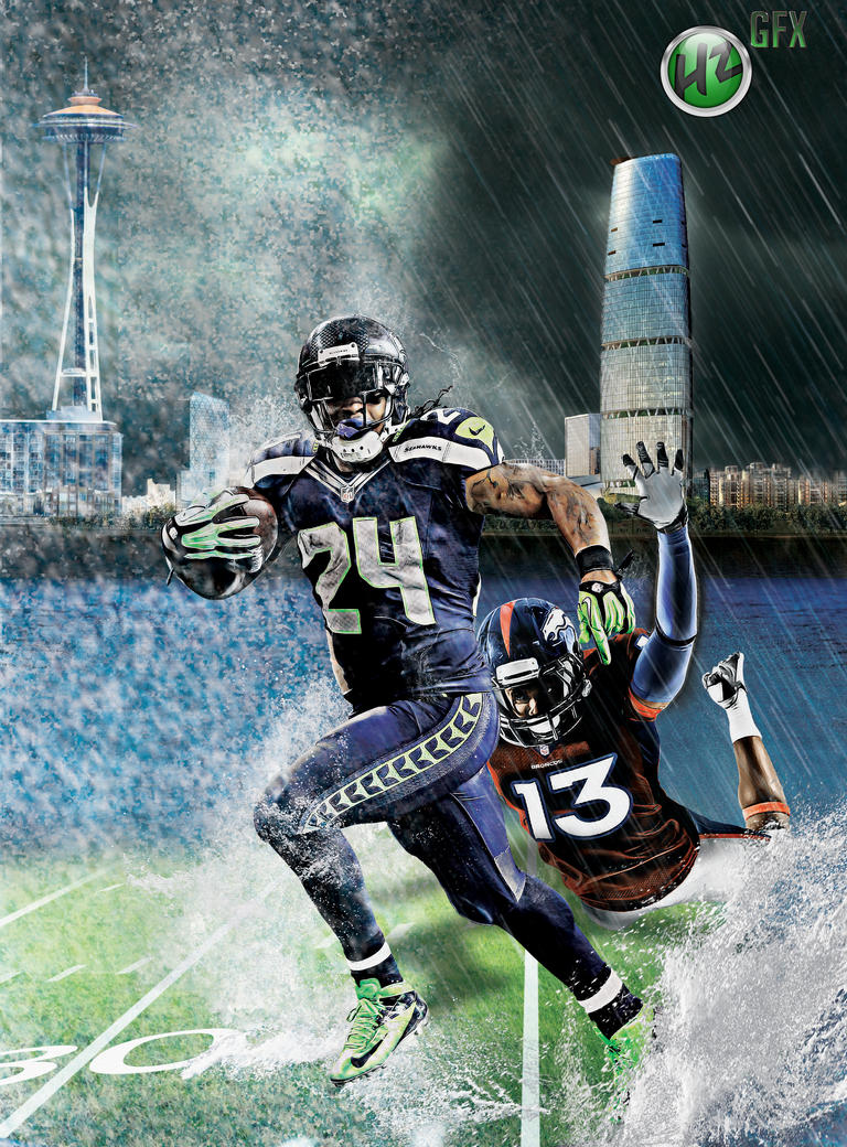 Rain or Snow, Beast Mode: Marshawn Lynch by NO-LooK-PaSS ...