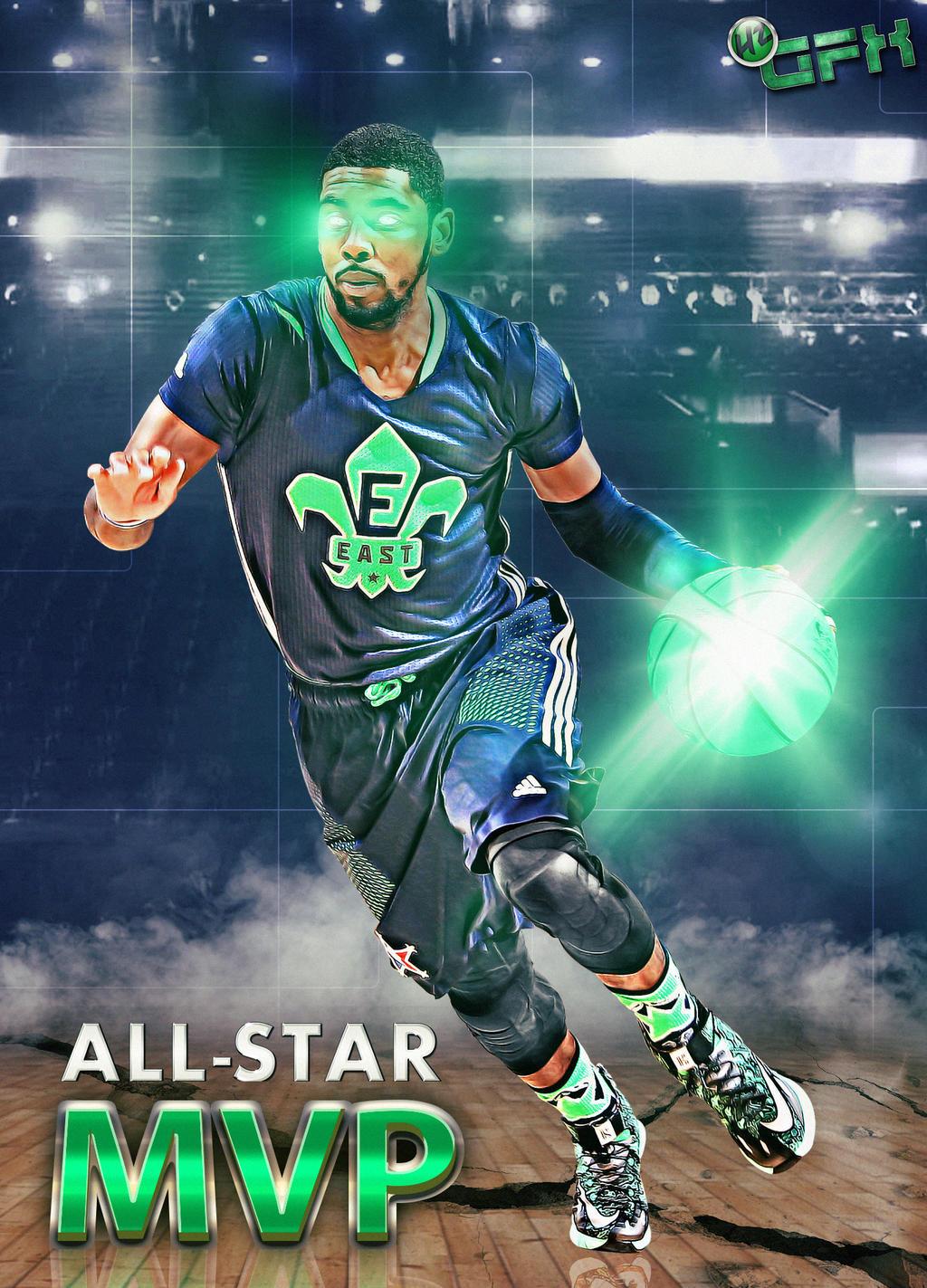 2014 NBA All Star MVP Kyrie Irving By HZ Designs