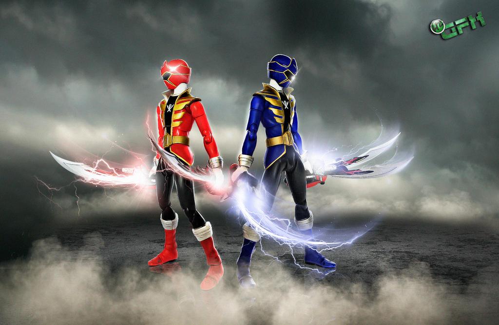 Protect Defend Power Rangers Super Megaforce By HZ Designs