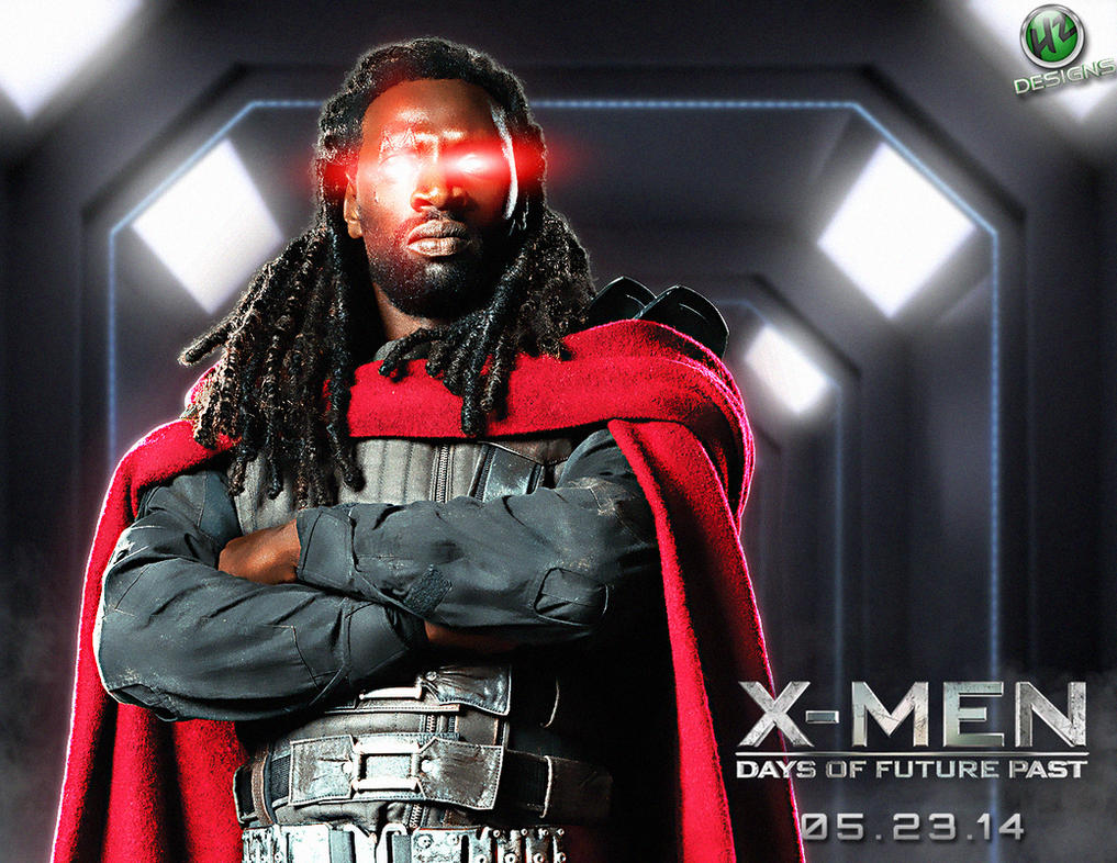 Men Days of Future Past: Bishop by NO-LooK-PaSS on DeviantArt X Men Days Of Future Past Bishop