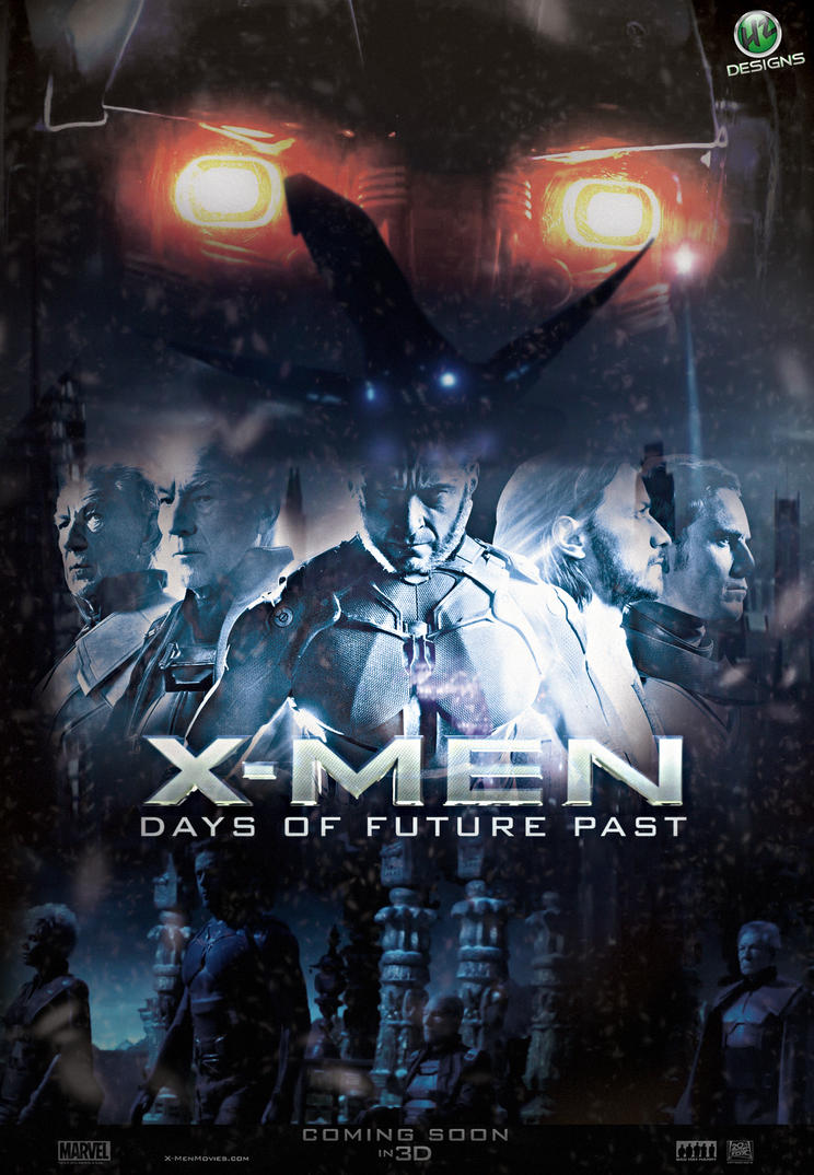 X Men 6 Days Of Future Past 2014 Hindi Dubbed Dual DVDScr 400MB ESub