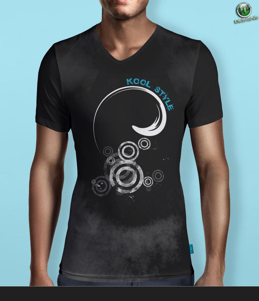V Neck T Shirt Design Mock Up 006 By Hz Designs On Deviantart