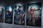 Captain America: Civil War Promo Posters Mockup by HZ-Designs