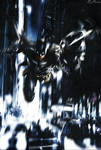 Custom Arkham Batman Poster