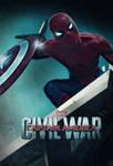 Captain America Civil War Poster : Spider-Man