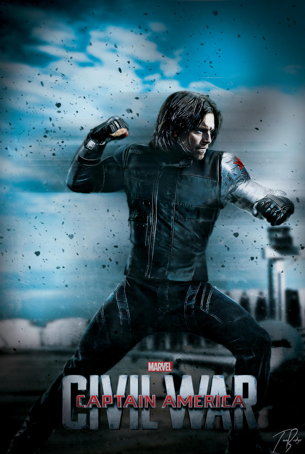 Captain America Civil War Poster : Winter Soldier by HZ ...