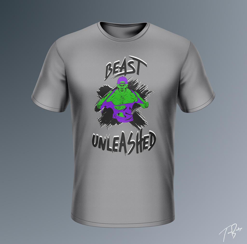 Beast Unleashed Custom T Shirt By Hz Designs On Deviantart