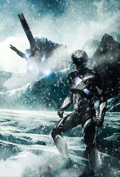 Black Ranger Custom Poster