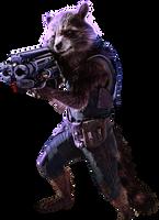 Rocket Raccoon by HZ-Designs