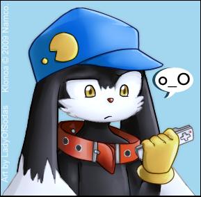 Klonoa's A-thinking by LadyOfSodas