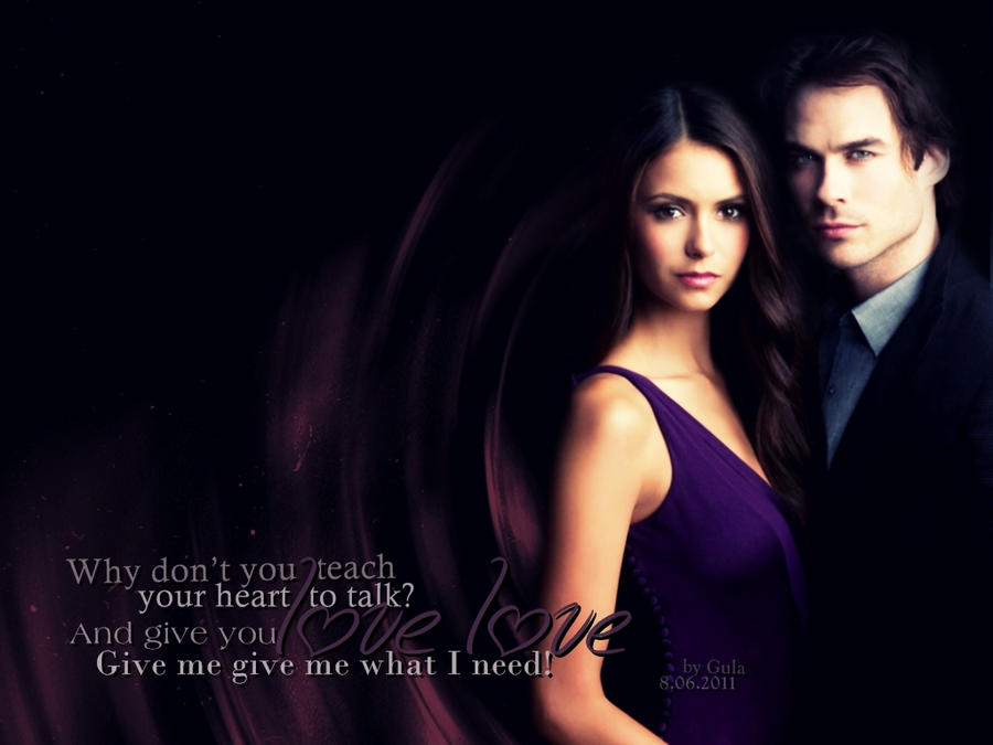 Elena and Damon by Gul...