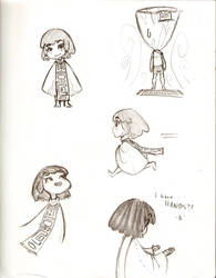 .:Sketch:. Char. Concept 2 by Chibilisous2