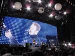 Coldplay Podium