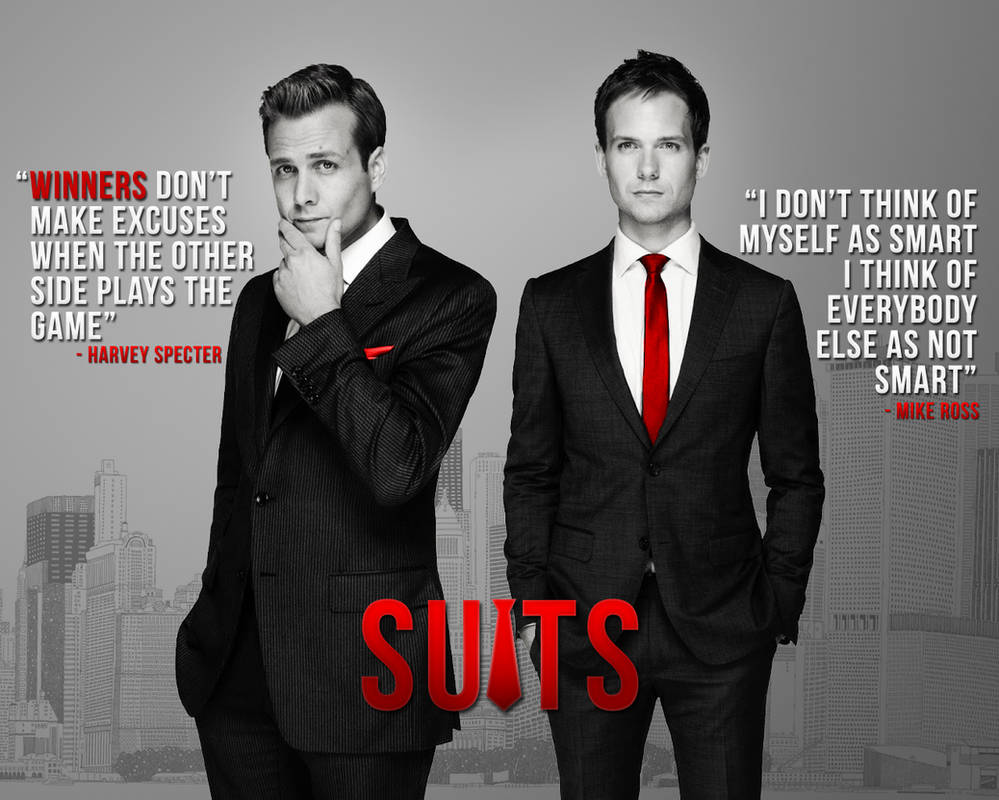 Suits wallpaper by LikeItWasOnce ...