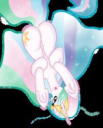 Princess Celestia Flankylicious by Rayodragon