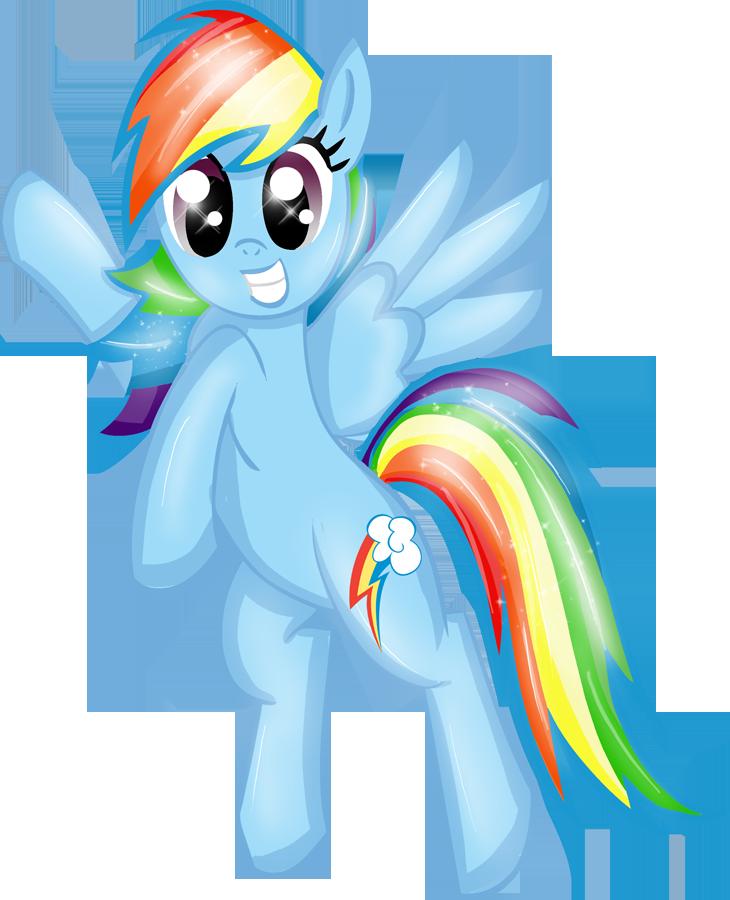 PFD10 Rainbow Dash by Rayodragon