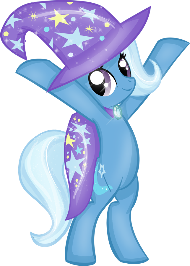 PFD15 The Great and Powerful Trixie Lulamoon by Rayodragon