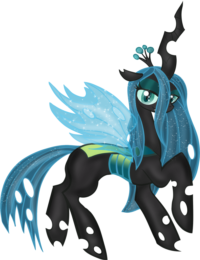 PFD27 Queen Chrysalis by Rayodragon