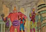Hero Buddies by 46Aceman