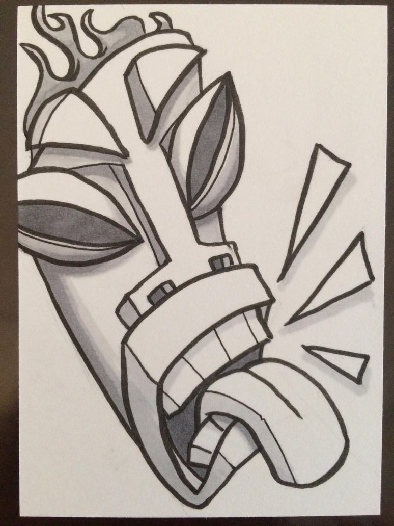 Tiki Yell by pixel-putty