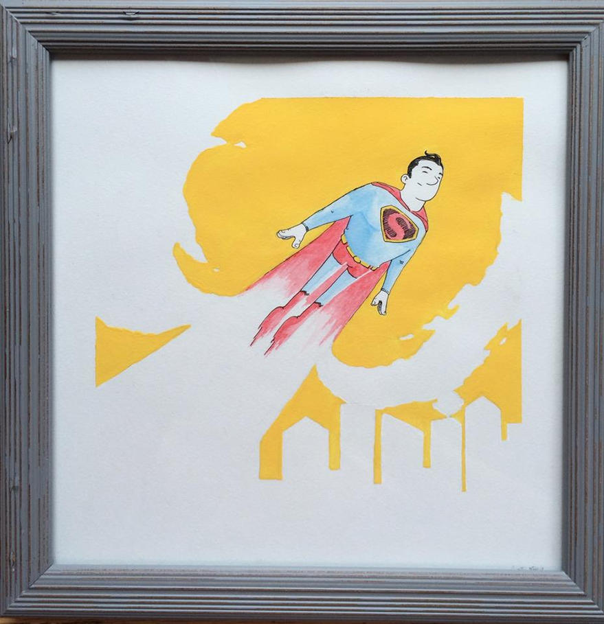 Superman Yellow by curtistiegs