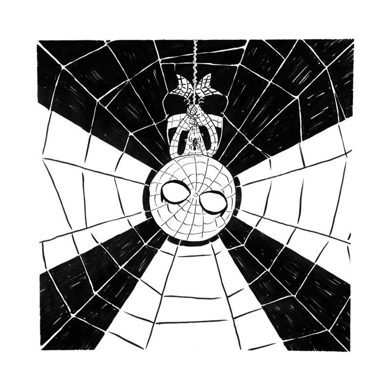 Lil Spidey bnw by curtistiegs