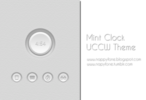 Mint Clock UCCW by JayDean03