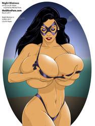 Night Mistress bikini by UltraFem